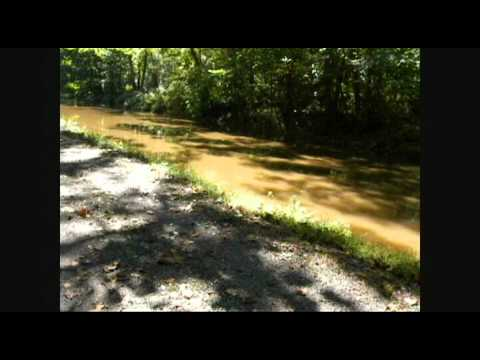 Delaware Canal Towpath New Hope To Yardley PA Part 1 of 3