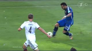 Germany vs Argentina 29 min Offside Goal