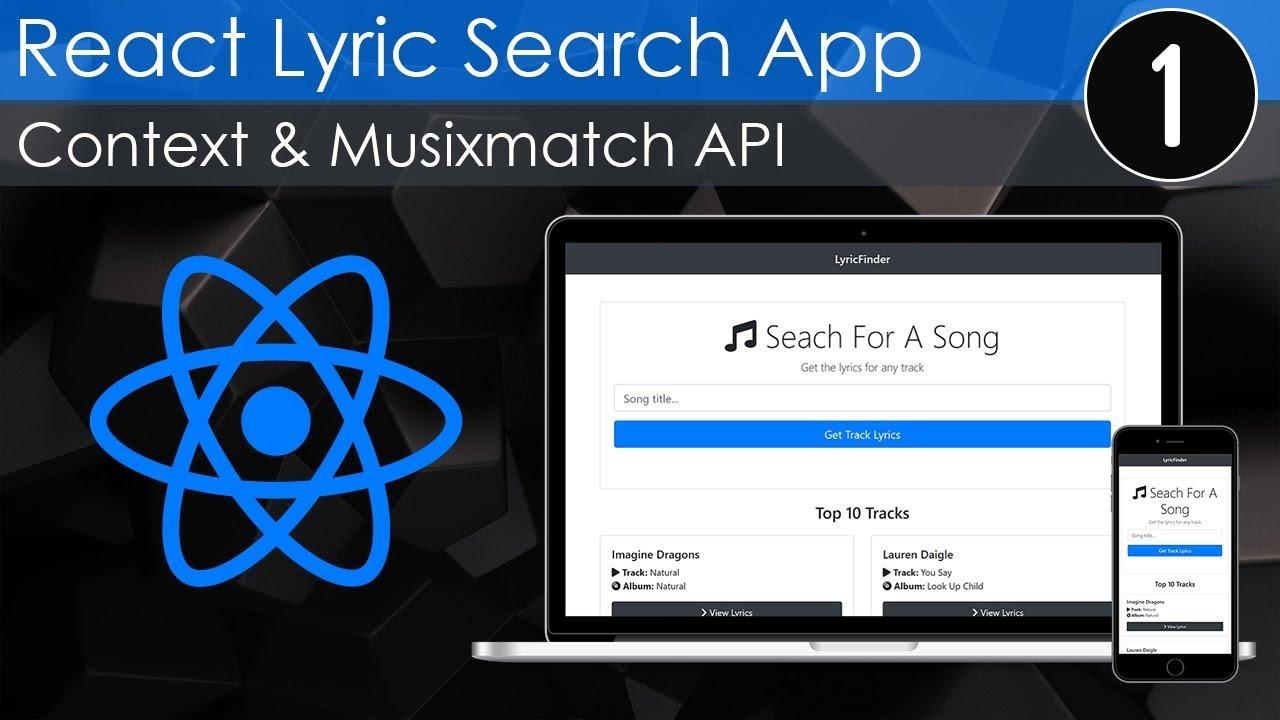 Lyric Search App With React & Context API [1] - Top 10 Tracks