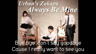 Always Be Mine - Urban Zakapa (Lyrics)
