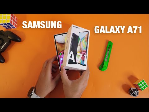 RESMI! Unboxing SAMSUNG GALAXY A71 Indonesia..!!