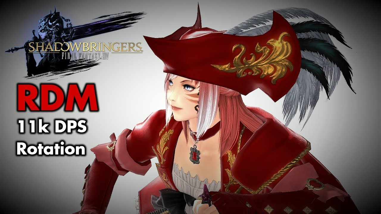 FFXIV - Red Mage/RDM 11k DPS rotation (Patch 5 xx - Ilvl 436)