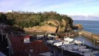 Le port des pêcheurs à Biarritz