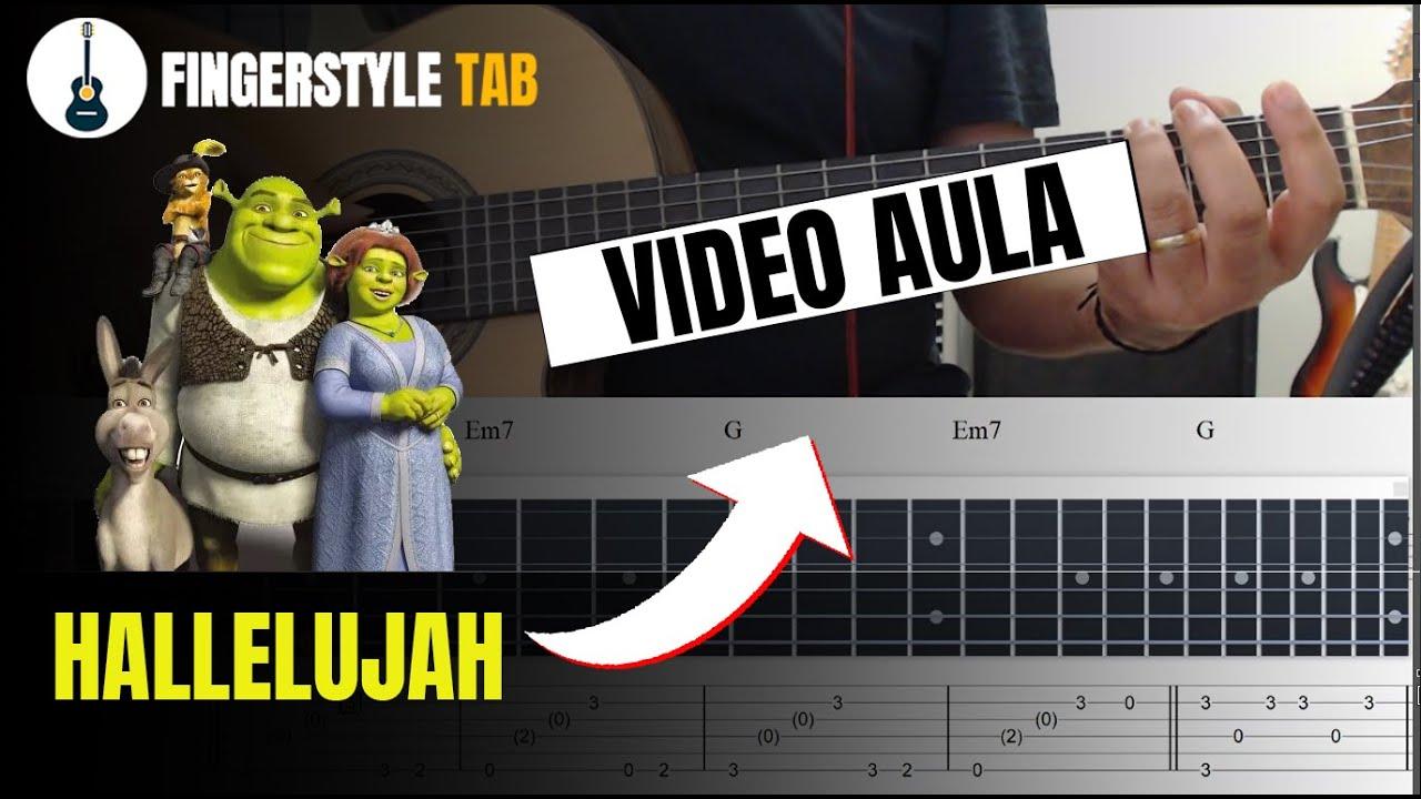 "HALLELUJAH ""Vídeo Aula"" Fingerstyle + Tablatura"