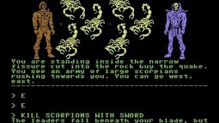 Masters of the Universe in Terraquake Longplay (C64) [50 FPS]