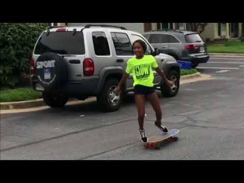 Learning how to skateboard