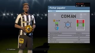 pes 2016   my club   uefa champions league stars qf   120k ball opening