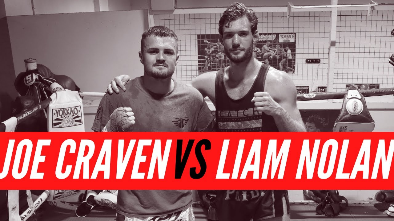 SPARRING SESSIONS EP.03   Joe Craven & Liam Nolan Play Sparring   Muay Thai