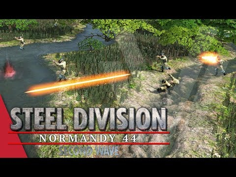 Controlling The River! Steel Division: Normandy 44 Gameplay (Odon, 3v3)