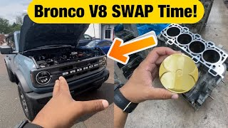 2021 Ford Bronco V8 Swap Time? + Built 5.0 Update for Mamba!