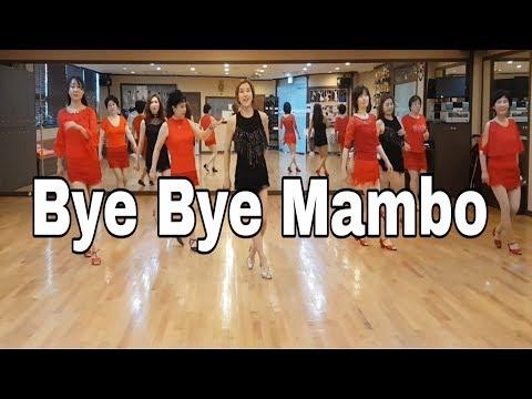 Bye Bye Mambo- Line Dance (Beginner )Helen Conroy Noonan