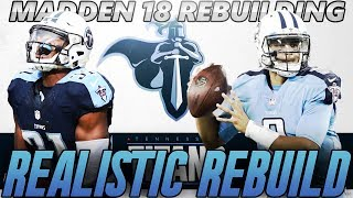 Madden 18 Connected Franchise | Tennessee Titans Realistic Rebuild | Lockdown Rookie of the Year! 2017 Video