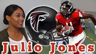 Clueless New Football Fan Reacts to NFL Reciever Julio Jones Highlights