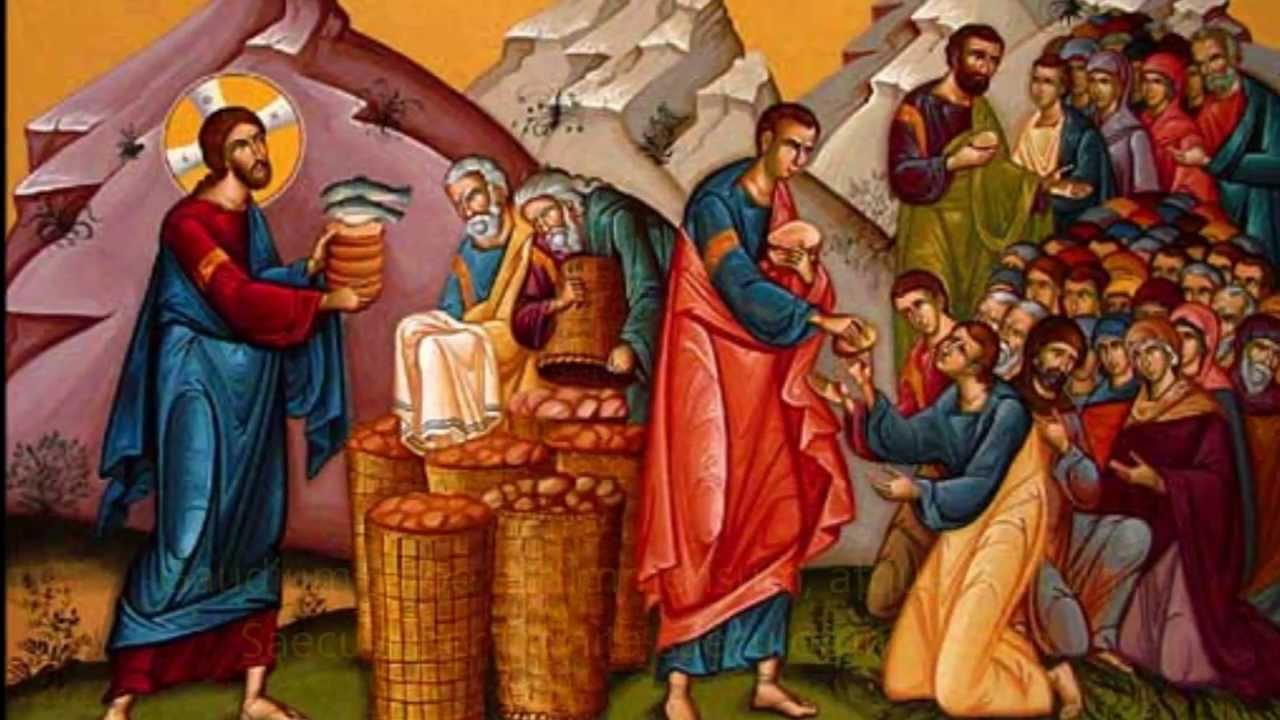 100 Famous People Painting: Gregorian Chant For Maundy Thursday