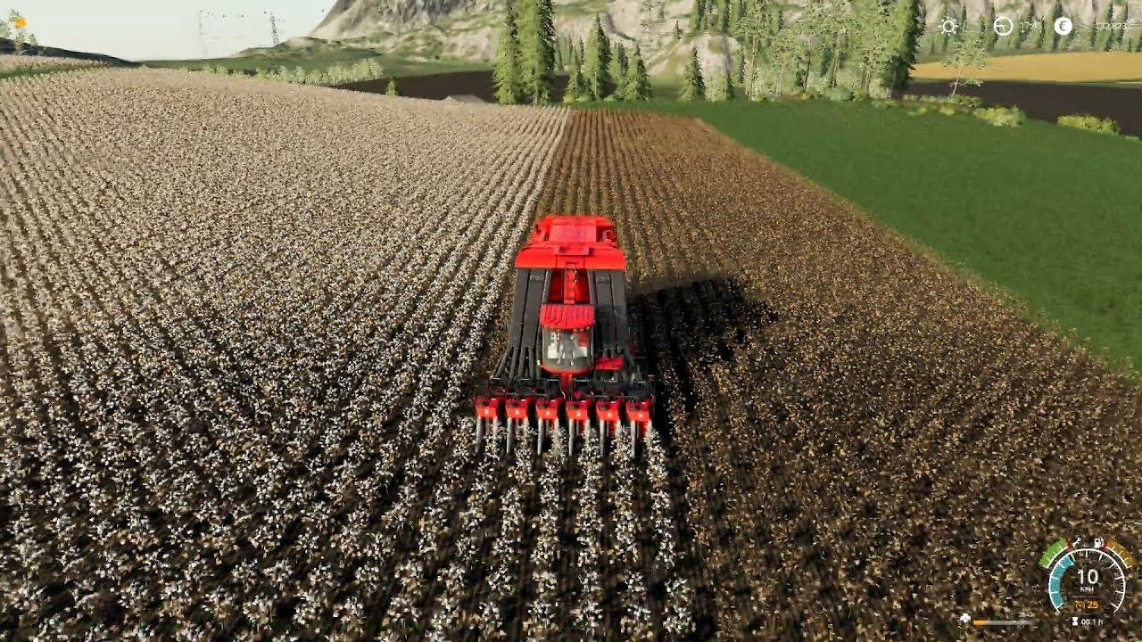 FS19 Timelapse #13 - Cotton and the worst job in the world!