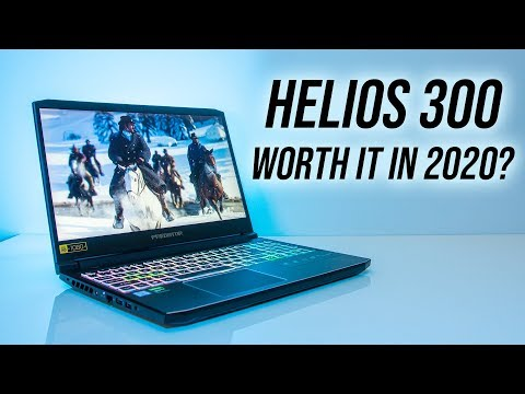 Acer Helios 300 2020 Game Retesting - 20 Games Tested!