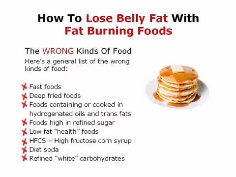 Food That Makes You Burn Fat Fast