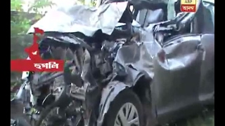 Again accident at Durgapur Expressway, 1 died