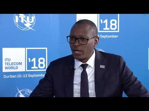 ITU TELECOM WORLD 2018: Patrick Nyirishema, Director General, RURA, Rwanda