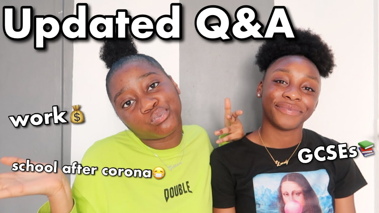 updated Q&A (school after covid, GCSEs, work) ft Jeulia Jewellery