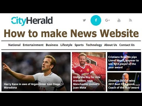 How to make News Website in Wordpress with City Herald Theme | Template Monster