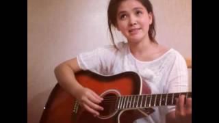 Алтыным менің - Альбина Шардарова (на гитаре)