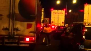 Freeway gridlock in Melbourne following bomb squad incident