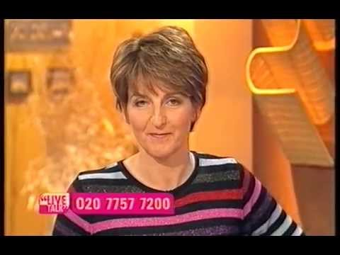 Live Talk - Carol McGiffin talks about cancer - 4th April 2001 (Loose Women)