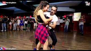 El canto de la SIRENA - DAMA . Marcelo y belén -Bachata 2018