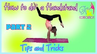 how to do a handstand for a long time