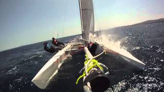 Tornado Catamaran sailing in Schinias, Greece 2011