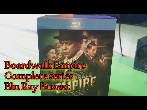 Boardwalk Empire Complete series Blu Ray unboxing (S1-S5) UK edition