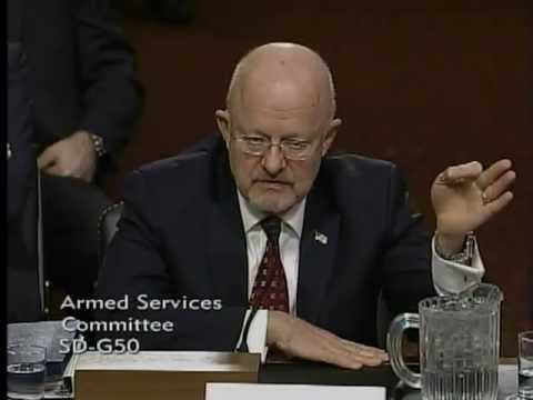 Senator Brown Questions Director of National Intelligence Clapper