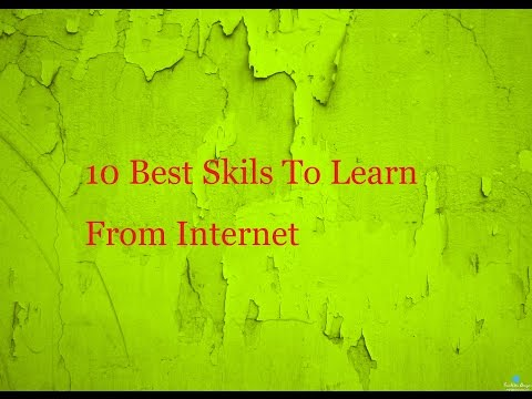 10 Best Skills To Learn From Internet