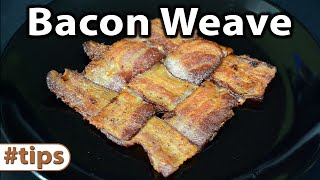 How to make the Perfect Bacon Weave | Tips | Caveman Keto