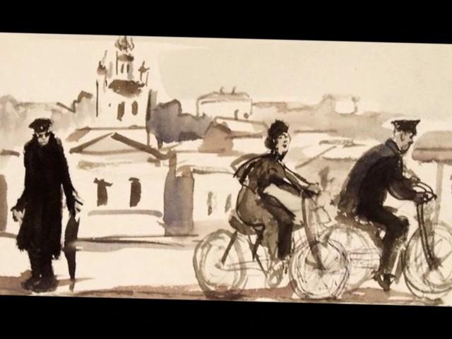 Изображение предпросмотра прочтения – ВалентинаМочалова представляет буктрейлер кпроизведению «Человек в футляре» А.П.Чехова