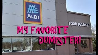 MY FAVORITE DUMPSTER ~ FREE FRESH FOOD ~ SHOUT OUTS TO OTHER DIVERS ~ DUMPSTER DIVING IN AMERICA!