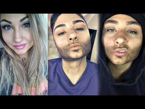 Woman To Man Transformation : Drag King Makeup Tutorial and Time Lapse