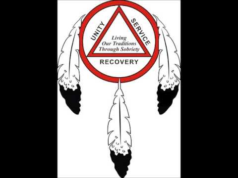 """""""Chief Black Hawk"""" AA Speaker in 1985 on 12-Step """"Recovery from Alcoholism"""""""