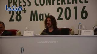 فيديو| كارلوس بويول يتحدث العربية فى القاهرة