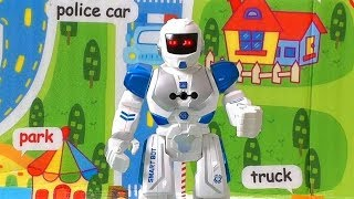 SMART BOT ROBOT REVIEW. TALKING AND DANCING ROBOT. TOY FOR KIDS