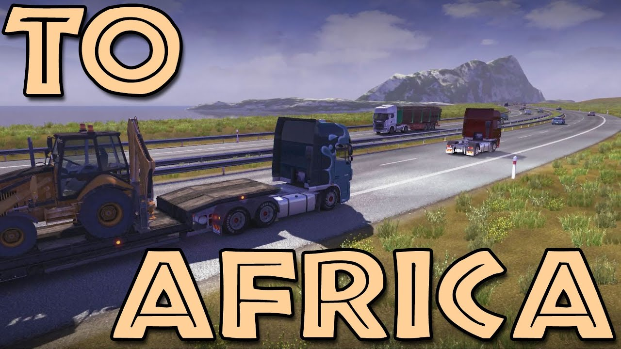 euro truck simulator africa map download