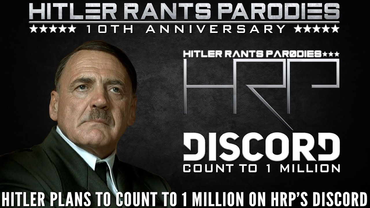 Hitler plans to count to 1 million on HRP's Discord