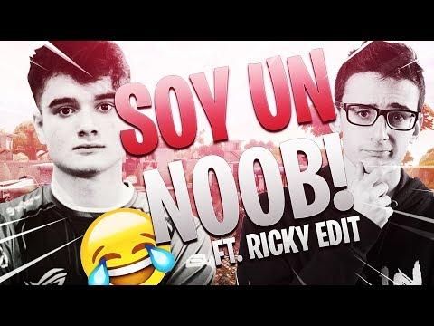 ME HAGO PASAR POR NOOB Y LES GANO LA PARTIDA #5 CON RICKY EDIT | FORTNITE | Ryux