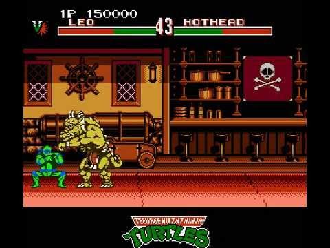 NES Longplay [429] Teenage Mutant Ninja Turtles - Tournament Fighters (a)