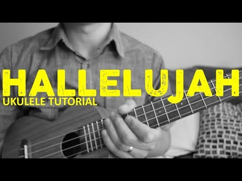 Hallelujah - Leonard Cohen - Ukulele Tutorial - Chords - How To Play