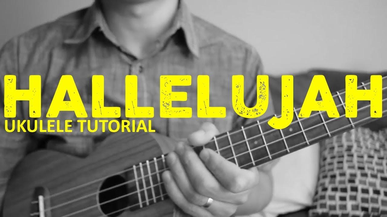 Hallelujah Leonard Cohen Ukulele Tutorial Chords How To Play
