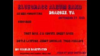 Bluegrass Album Band, Roanoke, Nov 27, 1983 PART 1
