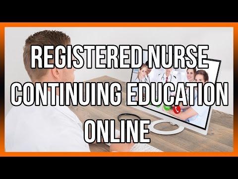 Registered Nurse Continuing Education Online
