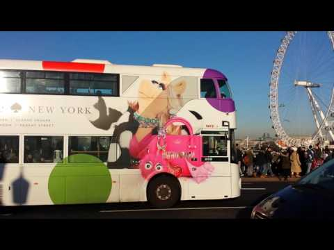 London's Iconic Double-Decker Buses